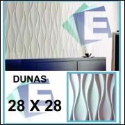 Molde silicone gesso 3D - Modelo Dunas